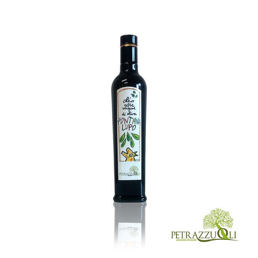 olio extravergine di oliva fontanalupo 0,50 L
