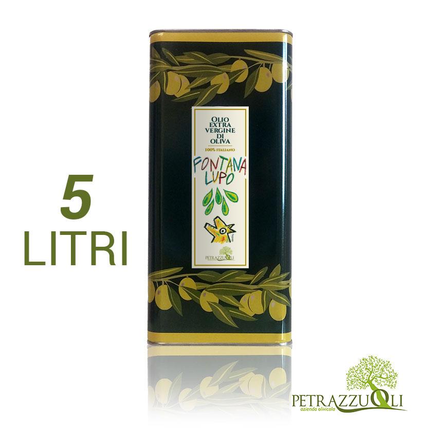 olio extravergine di oliva fontanalupo 5 L