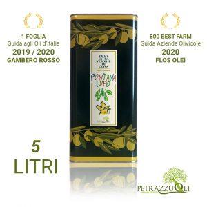 Olio extravergine di oliva fontana lupo