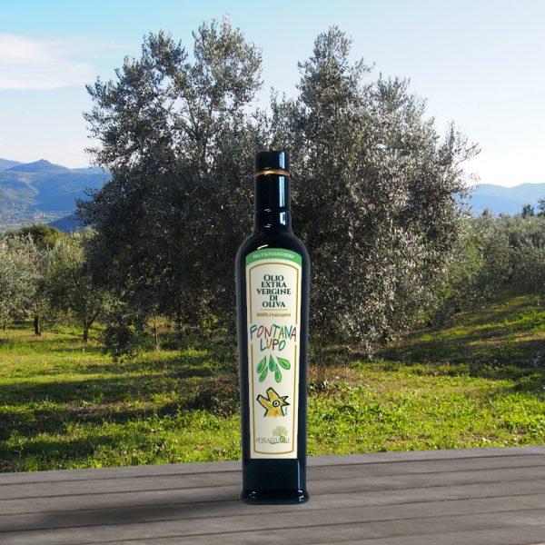Olio extravergine di oliva fontana lupo leggero