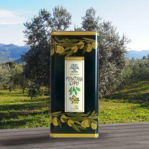 Olio extravergine di oliva fontana lupo intenso